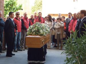 Funerali Marco Corino