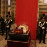 Celebrazione della Santa Messa nella Cattedrale di Casale Monferrato alla presenza dell'urna con le reliquie di San Giovanni Bosco