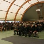 L'urna con le reliquie di San Giovanni Bosco accolta nell'Oratorio del Valentino