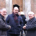 Mons. Vescovo con don Stefano Martoglio e don Pier Giorgio Verri