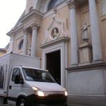 L'arrivo dell'urna con le reliquie di San Giovanni Bosco ad Occimiano