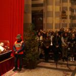 Veglia di preghiera per i giovani nella Cattedrale di Casale Monferrato alla presenza dell'urna con le reliquie di San Giovanni Bosco