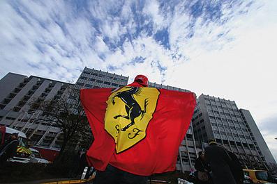 Prima - Ferrari Club da Schumacher