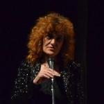 Silvana Mossano presenta la serata (foto A. Baviera)