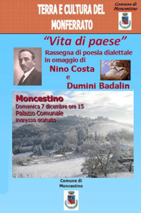Poesia dialettale a Moncestino