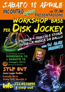 Workshop per Disk Jockey