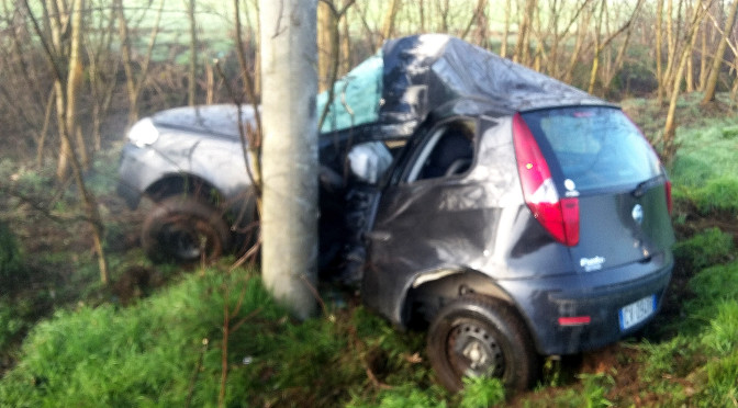 Incidente Stradale: grave Samuele Bosco