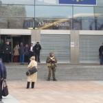 L'Esercito per le strade di Bruxelles