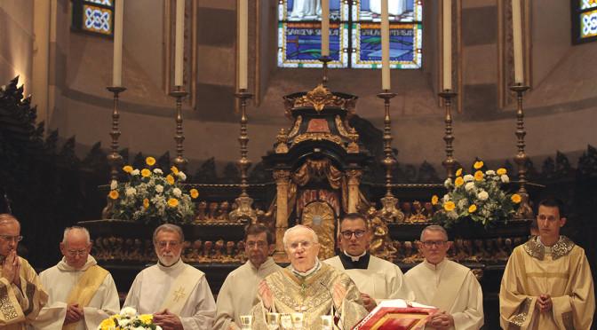 Diocesi in festa per il Vescovo Alceste Catella