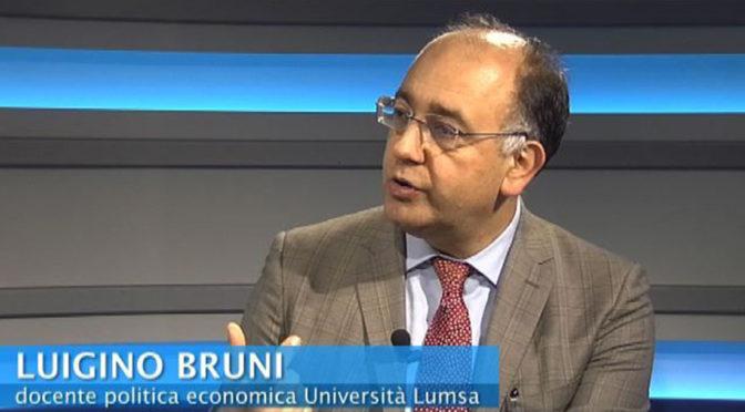 Il prof. Luigino Bruni per «Cantiere Speranza»