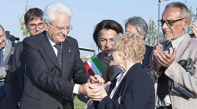 Il Presidente Mattarella in città: «Casale simbolo di riscatto»