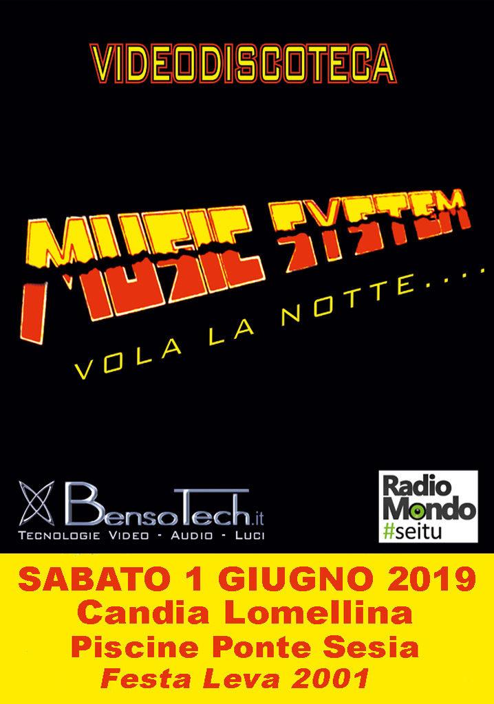 locandina music system