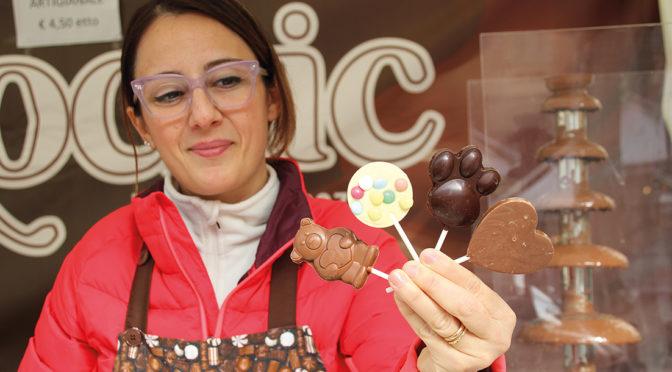 """Successo per la 1ª """"Festa del Cioccolato"""""""