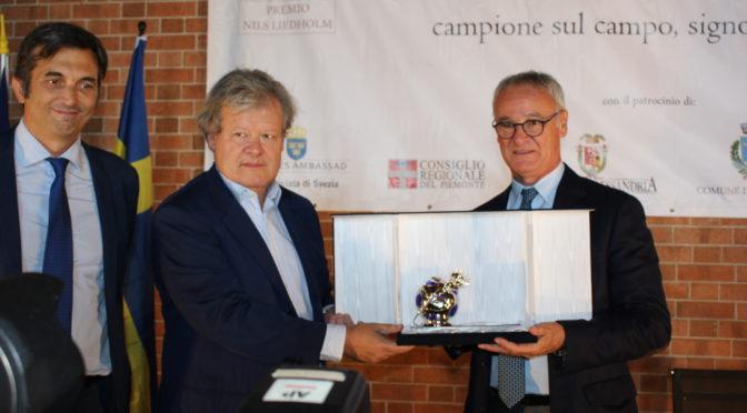 Premio Liedholm a mister Claudio Ranieri