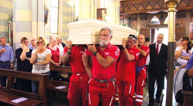 A San Martino i funerali del medico assassinato