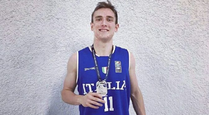 Davide Denegri «Vice-Faraone»: Argento Mondiale Under 19