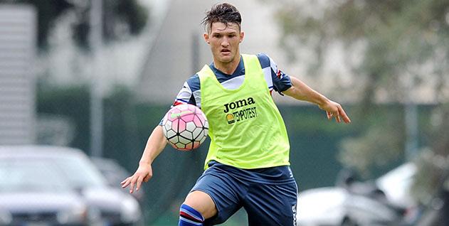 Bogliasco (Genova), 15/08/2015 Sampdoria/Sampdoria-Sampdoria Primavera (Amichevole) Olger Merkaj