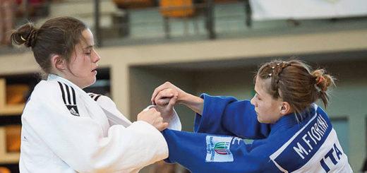 La judoka Michela Fiorini