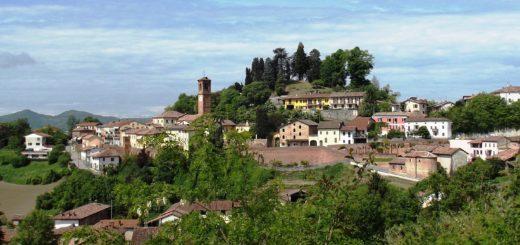 Veduta di Mombello Monferrato