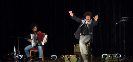 Un momento dello spettacolo Otello Unplugged