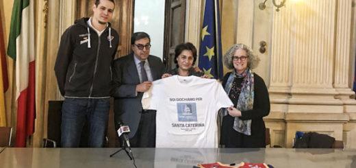 Conferenza in Comune con Cerutti, Sindaco Palazzetti e Buzzi