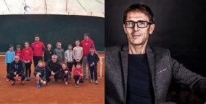 Squadra Coppa tennis + Meloccaro