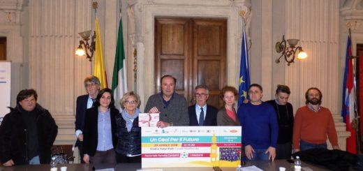 nazionale cantanti conferenza stampa con ettore andenna
