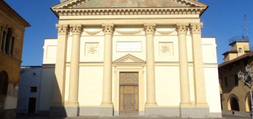 la chiesa parrocchiale di frassineto po