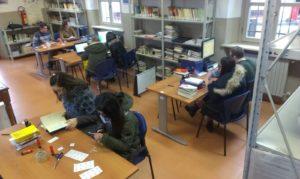 Bliblioteca del Liceo Balbo