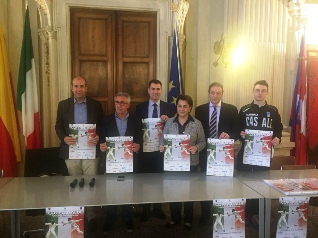 In foto da sinistra, Pietro Buzzi, Angelo Di Cosmo, Alessandro Poggio, Titti Palazzetti, Maurizio Randazzo e Dario Bocca.