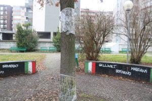 targa commemorativa casale reading giardini valentino