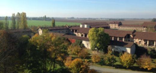 veduta dall'alto del borgo