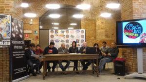 Conferenza stampa di Casale Comics al Castello