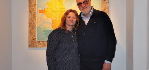 Magdalena Kacperska e Silvio Pozzati