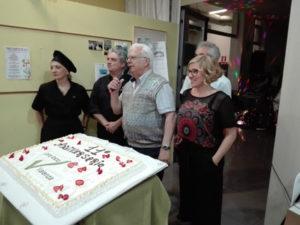 cena dell'anniversario alla pro loco Valenza