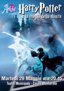 locandina spettacolo Harry Potter e la magia della danza