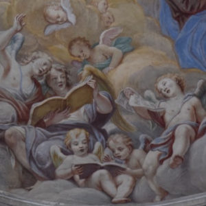 Affresco nella chiesa di Santa Caterina