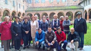 fodo di gruppo con Sindaco Palazzetti per la convenzione per la cura del verde cittadino