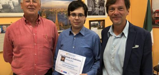 Il prof. Demichelis, Antonioli e il Preside Rota