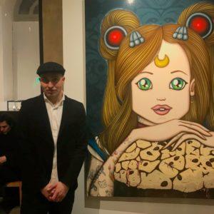 Max Ferrigno e disegno per Galup