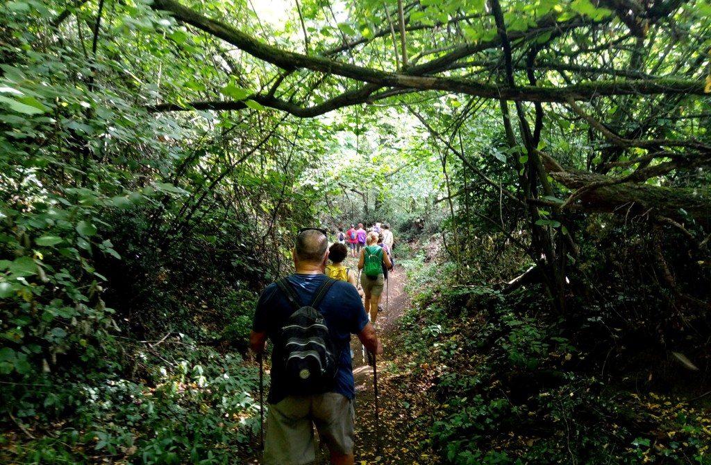 camminata naturalistica
