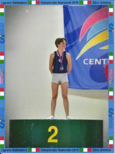 Tommaso Bizaro Premiazione ginnastica artistica