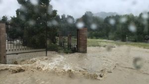 fiume di fango