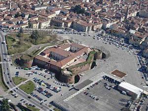 18-02-2010 castello di casale veduta dall'alto
