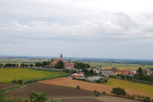 veduta del paese di camino