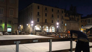 Pista di pattinaggio a Casale Monferrato