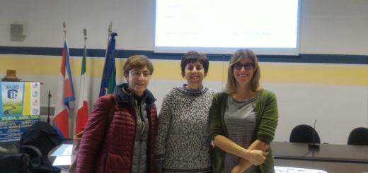 aula magna del Lanza per il corso di ecoomia civile