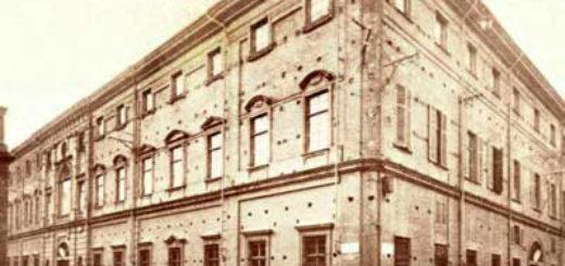 facciata storica palazzo leardi sede istituto scolastico