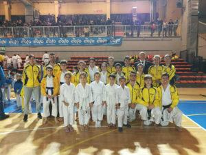 foto gruppo di karate