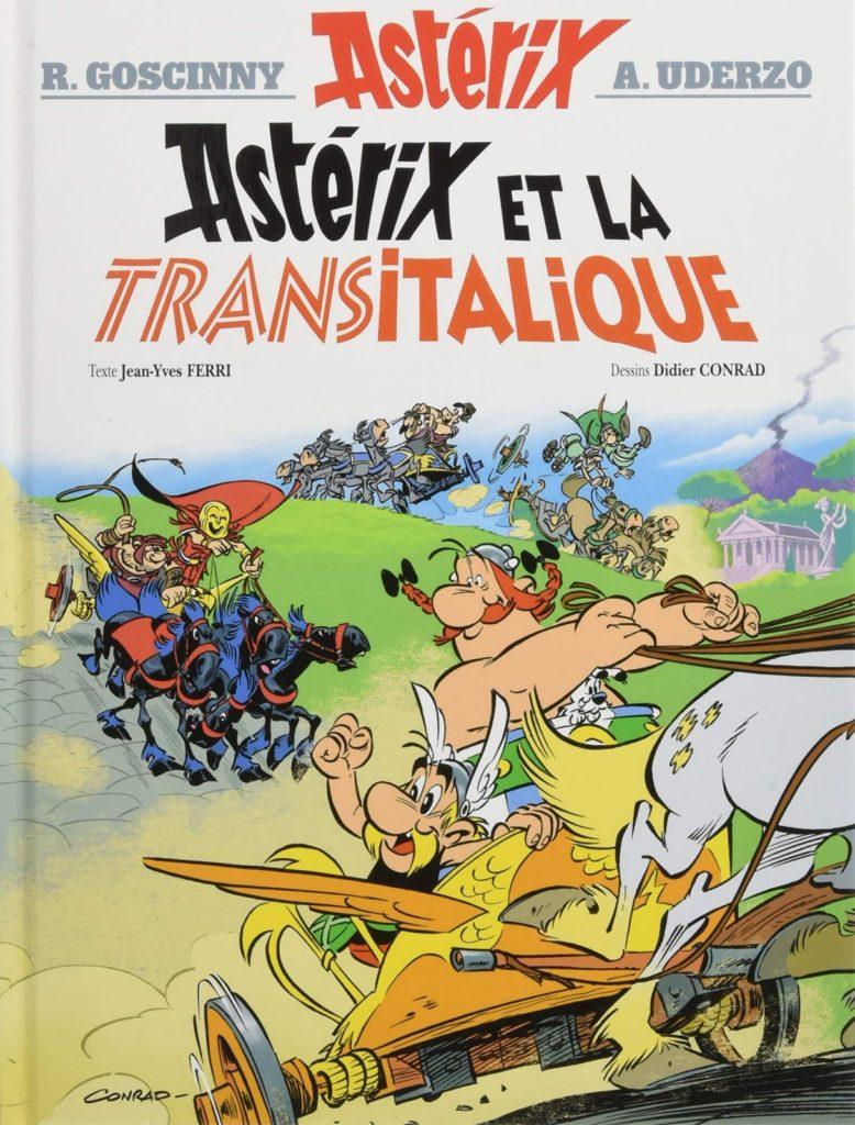 asterix e obelix al lanza